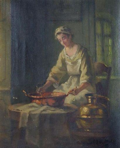 Albert SORKAU (1874-1951) Jeune femme à la...
