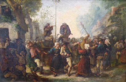 Entourage de Jules BRETON (1827-1906) La...