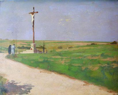 André DEVAMBEZ (1867-1943) Les bretonnes...