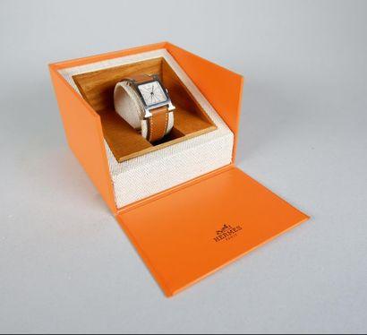 HERMES Paris Montre bracelet de dame modèle...