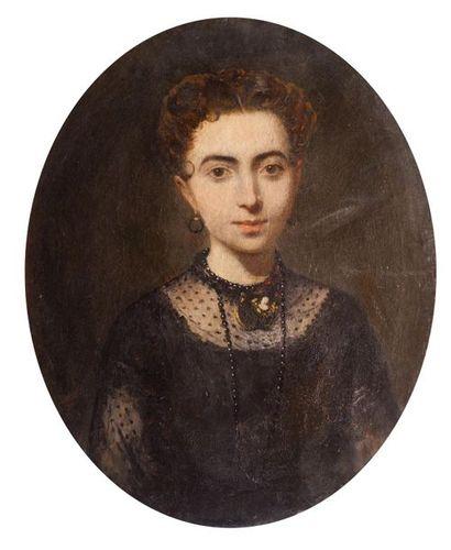 Ecole française du XIXe siècle Portrait de...
