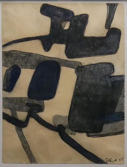 Maurice ESTÈVE (1904-2001) Composition, 1965....