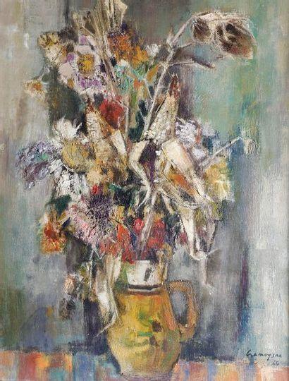Marcel CRAMOYSAN (1915-2007) Le bouquet de...