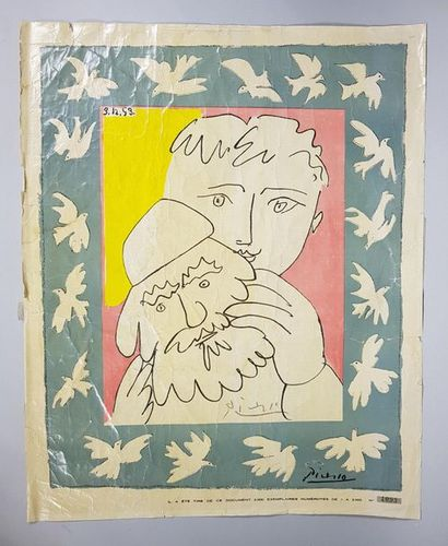 D'après Pablo PICASSO (1881-1973) Enfant...