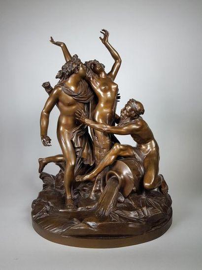 D'après Simon Louis BOIZOT (1743-1809). Apollon...