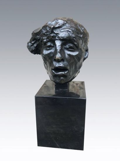 Camille CLAUDEL (1864-1943) Etude pour l'avarice....