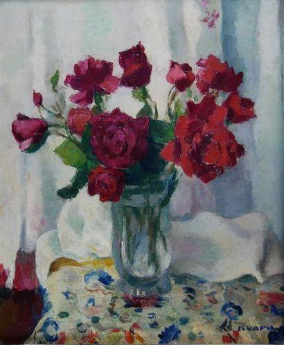 Charles KVAPIL (1884-1957) Le bouquet de...