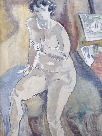 Jean-Désiré BASCOULES (1886-1976) Modèle...