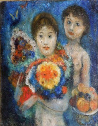 Edouard Joseph GOERG (1893-1969) Femmes et...