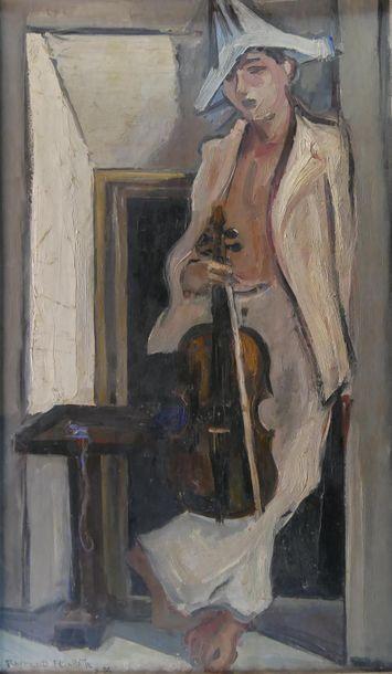 Raymond FEUILLATTE (1901-1971) Violoniste...