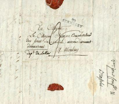 Archives de la famille NIEPCE (branche de Sennecey) Important ensemble de plusieurs...