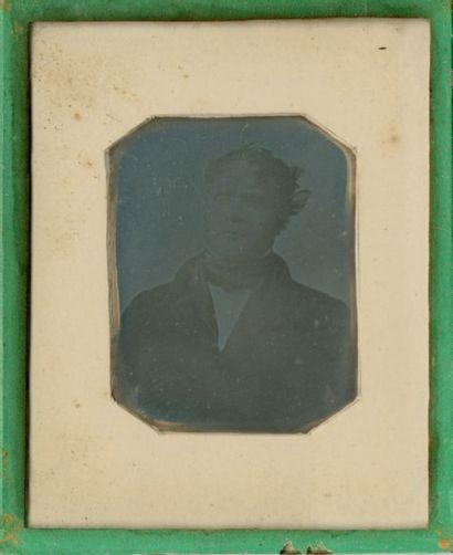 Jacques-Louis-Mandé DAGUERRE (Cormeilles-en-Parisis 1787-Brysur- Marne 1851) M. Huet...