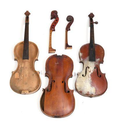 Lot de violons
