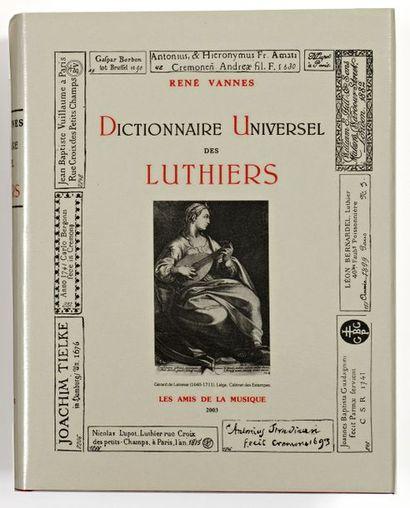 Dictionnaire Universel des Luthiers