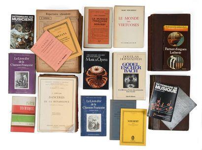 Livres de musiques et partitions