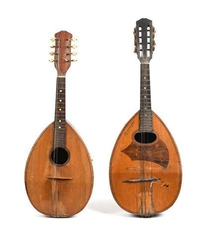 Lot de mandolines
