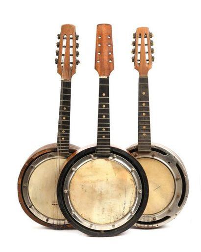 Lot de banjo et mandoline