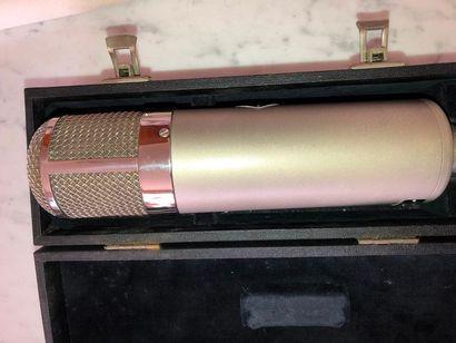 NEUMANN - Micro U 47 Passé au banc d'essai - voir test- Test in testing-bench -...