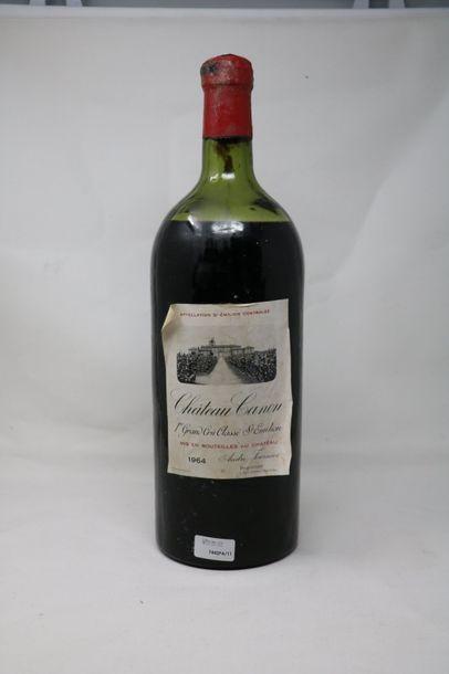 Un (1) Jeroboam (5 litres), Château Canon,...
