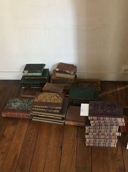Lots de livres reliés et brochés