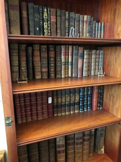 Lot de livres XVIII, XIX et Xxe siècles:...