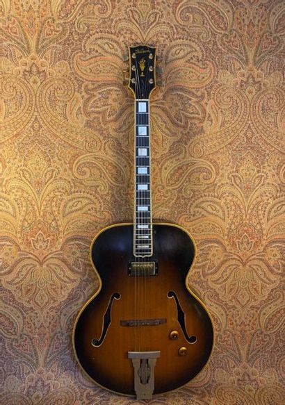 GUITARE ARCHTOP - GIBSON  MODELE - L5, 1966,...
