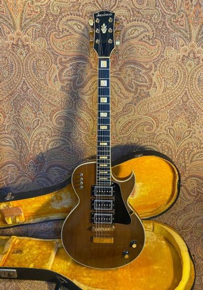 GUITARE SOLID-BODY - JACOBACCI  MODELE -...