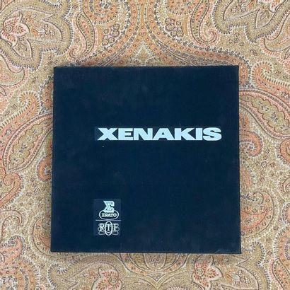 """Expérimentale 5 disques 33 T/coffret complet - Xenakis, dont série """"Perspectives..."""