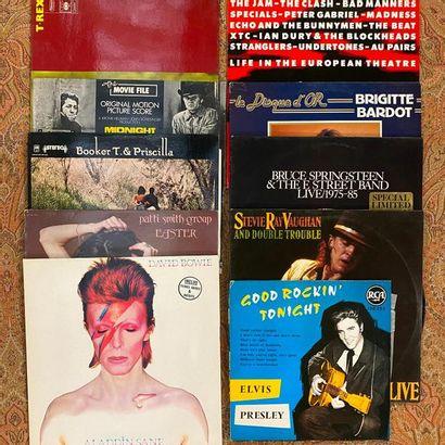 DISCOTHEQUE IDEALE 21 disques 33 T/ 25 cm - Discothèque Idéale  VG à EX; VG à EX