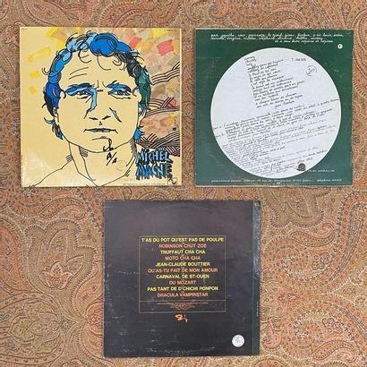FRANCAIS 3 disques 33 T - Prog/Jazz/Funk français  VG+ à EX; VG+ à EX