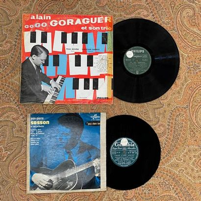 JAZZ 2 x Lp/10'' - French Jazz  G; VG