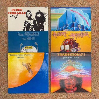 JAZZ 6 disques 33T - Prog/Jazz français  VG à EX; VG+ à EX
