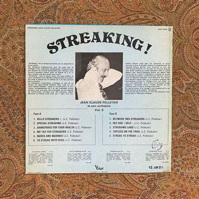 """JAZZ 1 disque 33 T - Jean-Claude Pelletier """"Streaking""""  VG+; EX"""