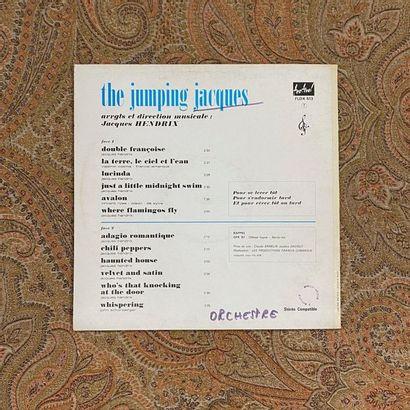 JAZZ 1 disque 33 T - Jacques Hendrix  VG (écriture au dos); EX  Jazz/Funk/Jerk