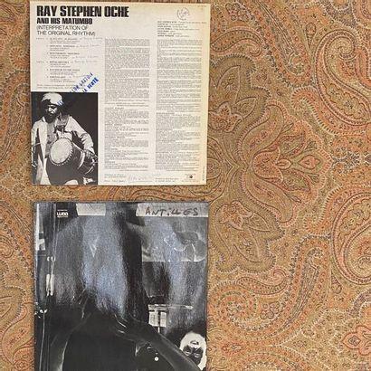 JAZZ 2 disques 33 T - Afro-jazz  VG+ à EX (écriture au dos); VG+ à EX