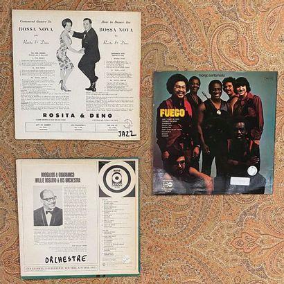 MUSIQUE DU MONDE 3 disques 33T - Latin Jazz  VG+ à EX (écriture au dos); VG+ à E...