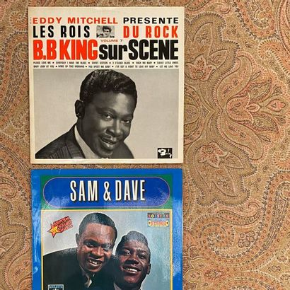 R&B 2 disques 33T - Rythmes & Blues  Originaux français  VG+ à EX ; VG+ à EX