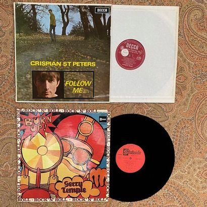 POP ROCK 2 disques 33T - Rock Beat 60's  VG+ à EX ; VG+ à EX