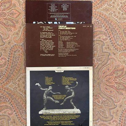 POP ROCK 3 disques 33T - Prog/Folk  VG+ à EX (écriture au dos); VG+ à EX