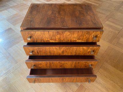 Attribué à BARTOLINI  Commode en bois de...