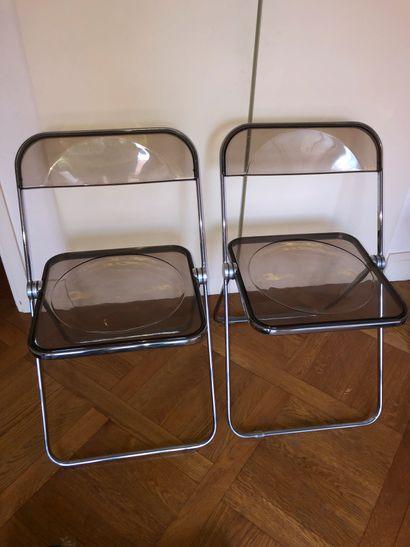 Giancarlo PIRETTI (né en 1940) Deux chaises...