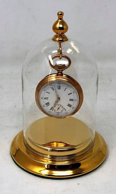 Montre de gousset en or jaune (750/°°), boitier...