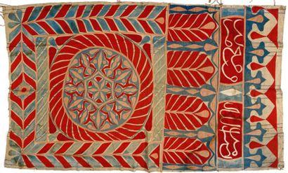 Portière, Égypte, début XXème siècle, décor...