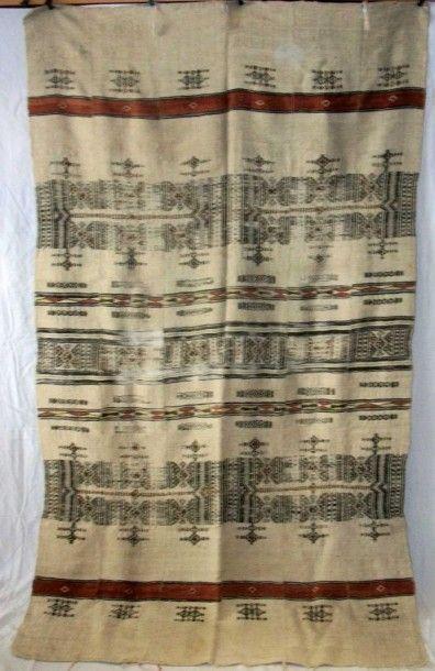 Manteau, Afrique du Nord, Atlas ( ?), laine...