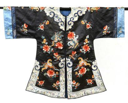 Manteau informel de femme Han, Chine, début...