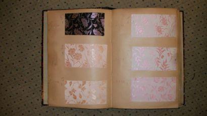 Album d'échantillons, circa 1931, façonné...