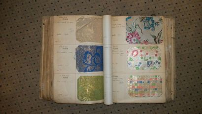 Album d'échantillons, Dubost, circa 1932,...