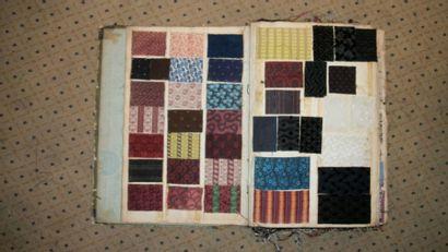 Album d'échantillons, circa 1860, puis 1950,...