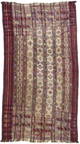 Manteau de cérémonie ou Kushüthara, Bouthan,...