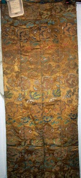 Kesa à quatre bandes, Japon, vers 1800, satin...